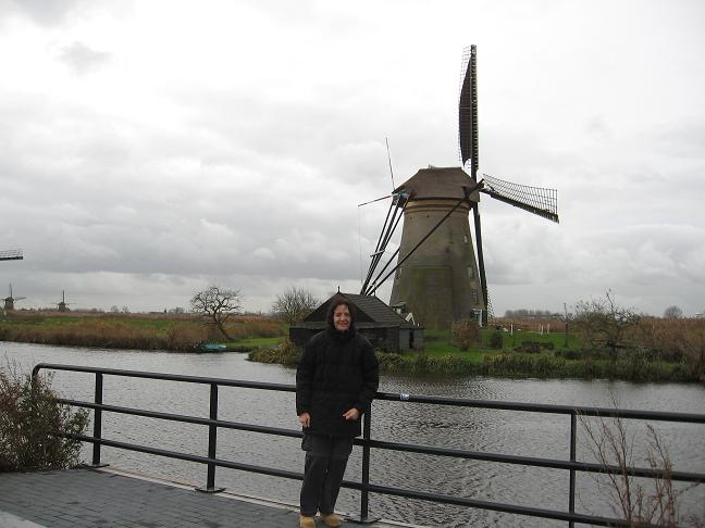 Windmill with Cindy