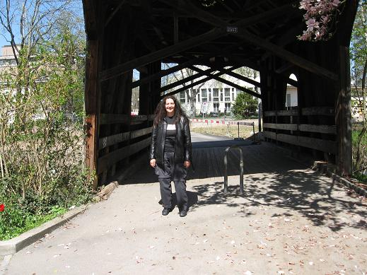 covered bridge - Cindy
