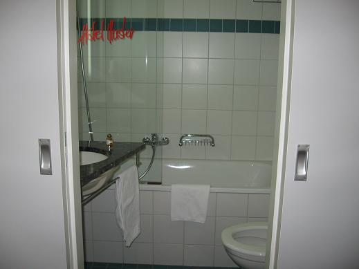 hotel room - bathroom