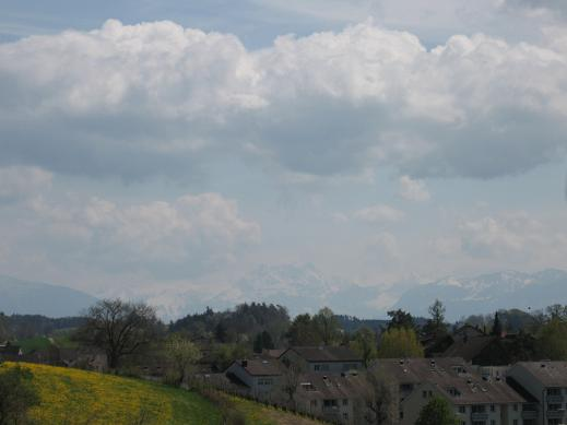 view of Alps