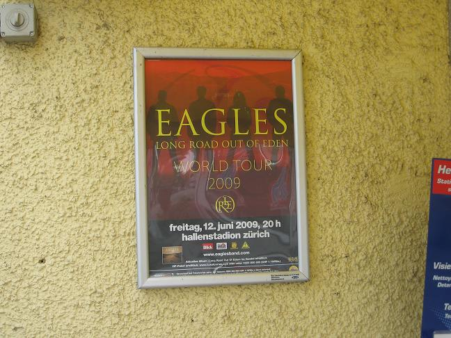 Eagles tour poster
