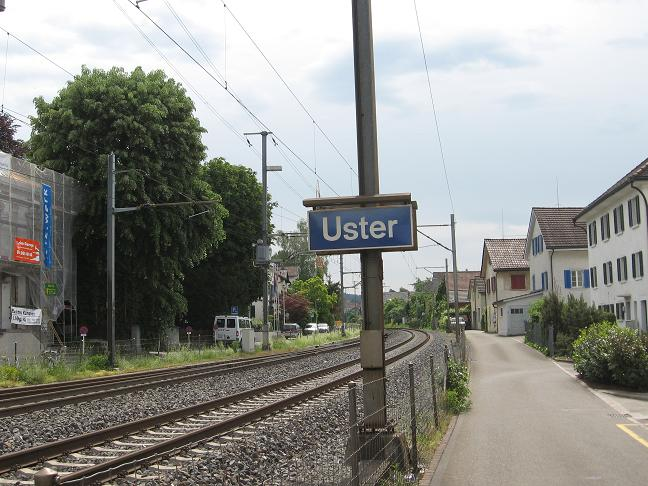 Uster sign