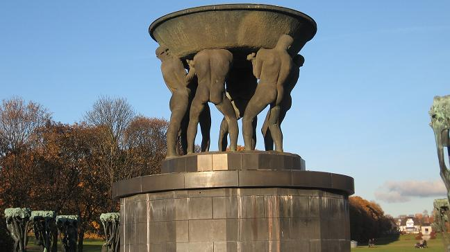 Vigeland Park - the fountain