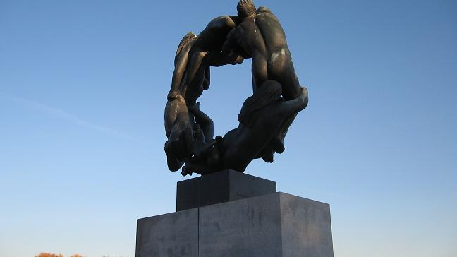 Vigeland Park - the wheel of life