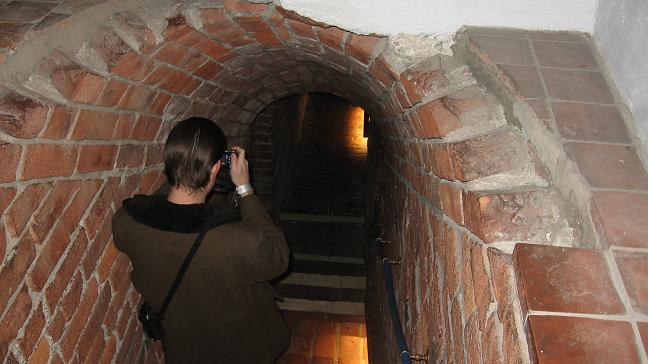 Akershus Fortress - steps to dungeon