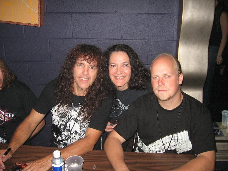 Rob Rock, Cindy, CJ Grimmark