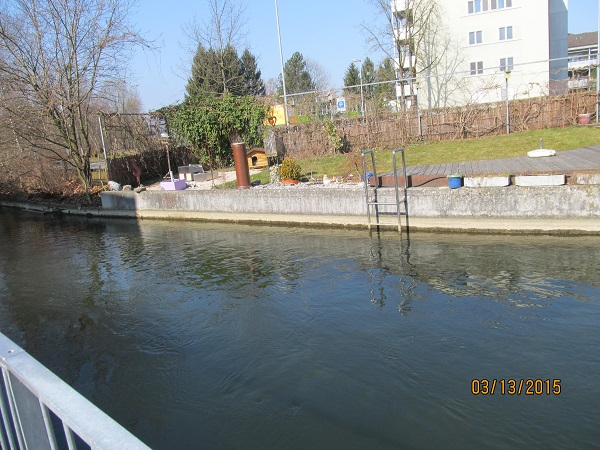 River through Uster