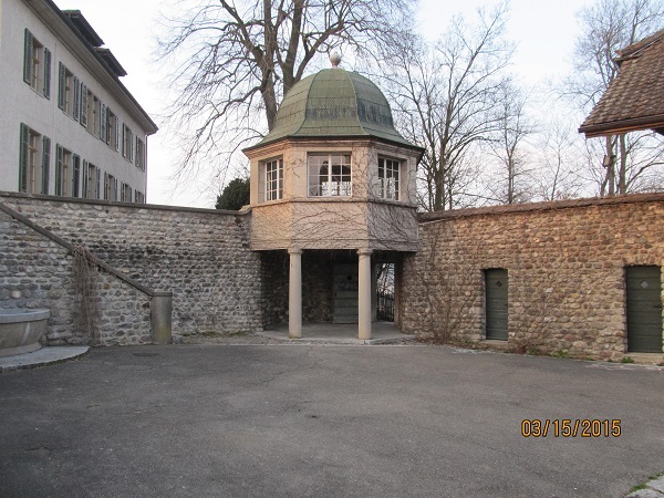 Shelter for horses, next to Fortress