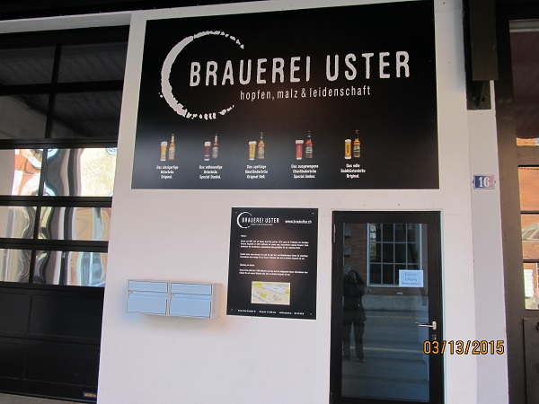 Brewery of Uster